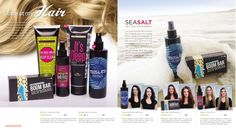 Stare at my hair! naturally based hair care products from Perfectly Posh!