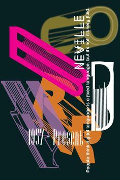 Neville Brody by Kateri Edwards Neville Brody, Peter Saville, Innovative Packaging, Deconstructivism, Font Shop, David Carson, Poster Ads, Typography Art, Deconstruction