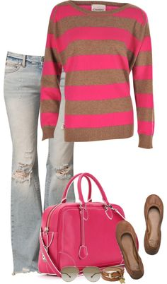 """""""PINK!"""" by partywithgatsby ❤ liked on Polyvore"""