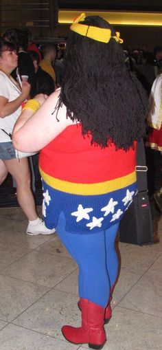 wonder woman fat costume google search - Halloween Costume For Fat People