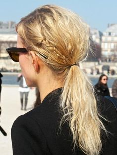 Ponytail + Braid