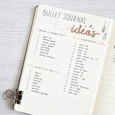 ++ BULLET JOURNAL IDEAS ++ I get a lot of questions how to start and where to start journaling. So here is a list with all the things I love to put in my bullet journal. I haven't done all of them yet and I will add a lot more! +++ Q: What is your favourite page in your bujo? Mine is definitely this one so far! (Lettering inspired by the amazing @amandarachdoodles) • • • • #bulletjournal #bujo #bulletjournaling #bujobeauty #planner #plannerlove #studygram #plannercommunity #bulletjournalss…