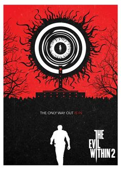 A poster based on The Evil Within 2 using a contemporary graphic-oriented approach. Leslie Withers, Cry Of Fear, Sebastian Castellanos, Horror Art, Best Games, Wallpaper, Videos, Concept Art, Video Games