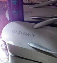 Old Navy heel detail