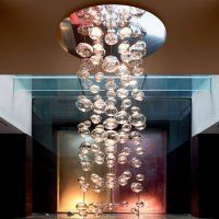 Floating Glass Bubble Chandelier ~ Modern, Elegant and Industrial ...