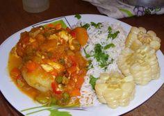 Bolivian food so delish Spicy Recipes, Chicken Recipes, Cooking Recipes, Chimichurri Chicken, Bolivian Food, Venezuelan Food, Deli Food, Good Food, Yummy Food
