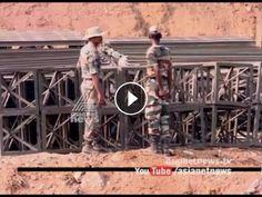 Bailey bridge construction at Enathu started
