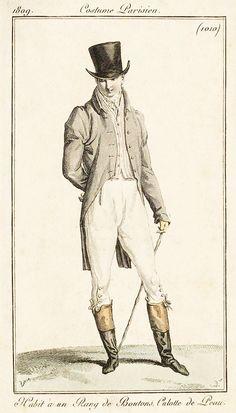 gentleman of fashion, 1809