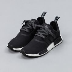ADIDAS Women's Shoes - Adidas Women Shoes - adidas NMD Runner in Core Black - We reveal the news in sneakers for spring summer 2017 - Find deals and best selling products for adidas Shoes for Women Cute Shoes, Women's Shoes, Me Too Shoes, Shoe Boots, Shoes Style, Black Shoes, Shoes Tennis, Roshe Shoes, All Black Running Shoes