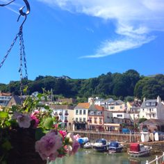 If i could be anywhere in the world (: St Aubin, Jersey