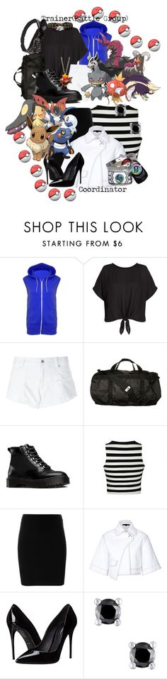 """""""Kyla-Pokemon Trainer-Battle Group"""" by bubbythenarwhal ❤ liked on Polyvore featuring Diesel, The North Face, Dr. Martens, Ally Fashion, T By Alexander Wang, Alexander Wang and Dolce&Gabbana"""
