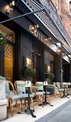 Cote Restaurant - fits in nice and snugly here  #shopchiswick #chiswick #london