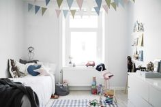 Colorful Scandinavian Style Kids Room
