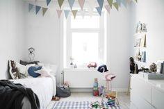 Colorful Scandinavian Style Kids Room