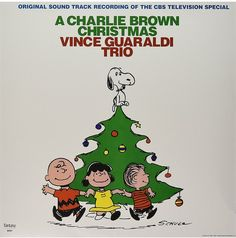 A Charlie Brown Christmas Vince Guaraldi Trio Vinyl Record.  One of the most beloved and best-selling holiday albums of all time, A Charlie Brown Christmas continues to introduce generations of children to the joys of jazz thanks to the cool stylings of the Vince Guaraldi Trio. Features such holiday classics as Christmas Time is Here, Greensleeves, and the iconic Linus and Lucy.  #christmas #charliebrown