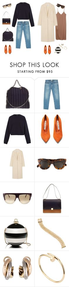 """#17"" by jennybecker on Polyvore featuring STELLA McCARTNEY, Acne Studios, CÉLINE, Kate Spade and Cartier"