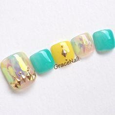 Nail Shapes - My Cool Nail Designs Chic Nail Designs, Toe Nail Designs, Cute Pedicures, Pedicure Nails, Diva Nails, Chic Nails, Acrylic Nail Shapes, Acrylic Nails, Feet Nails