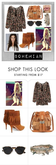 """""""Bohemian"""" by allylally16661 ❤ liked on Polyvore featuring Polaroid, MANGO, Aquazzura, See by Chloé, Christian Dior and Aéropostale"""
