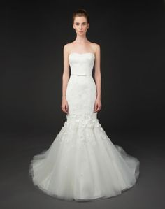 Kai gown by Winnie Couture Blush Label 2014...a little too mermaid for my taste but super cute!