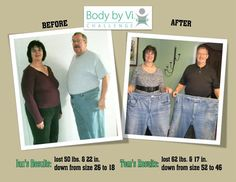 Tom and Jan Hibbard- Body by Vi Champions April 2011 http://www.jointiandmistinow.com/