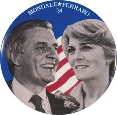 Walter Mondale selected Geraldine Ferraro as his running mate. In doing so, she instantly became a trailblazer and a pioneer as the first female vice presidential candidate to represent a major American political party. Political Status, Political Campaign, Political Party, Politics, Presidential Nominees, Presidential Election, American Political Parties, Walter Mondale