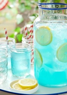 Transform classic lemonade into something truly sensational by adding flavored candy! This JOLLY RANCHER Lemonade recipe is sure to be a hit with your 4th of July crowd—young and old.