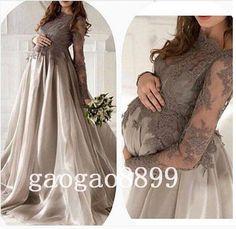 Pregnant Evening Dress 35