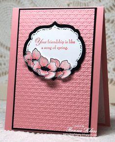Stamping with Klass: Blushing Fabulous Florets