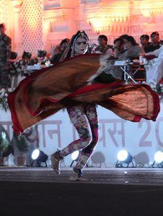 राजस्थान दिवस-2016 - जनपथ पर लोक कलाकारों द्वारा शानदार प्रस्तुतियां।