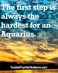 THE FIRST STEP IS ALWAYS THE HARDEST.