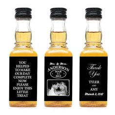 custom jack daniels labels. hilarious.
