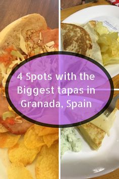 Granada, Spain is a city that serves free tapas with every drink. However to get the most, you have to know when the biggest tapas in Granada are. Europe Travel Tips, European Travel, Travel Advice, Travel Guides, Travel Destinations, Portugal Travel, Spain Travel, Tapas, Drinking Around The World