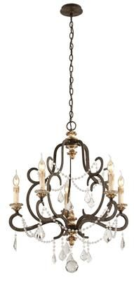 Receive an Instant Gift Certificate up to 10% of your entire order of $100+ when you share! Bordeaux 5 Light Chandelier