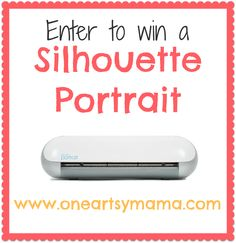 One Artsy Mama - http://www.oneartsymama.com/2013/08/silhouette-sketch-pen-promo-and-portrait-giveaway.html