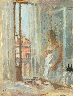 Bernard Dunstan - Room in Venice
