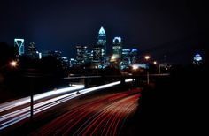 Hey, I found this really awesome Etsy listing at https://www.etsy.com/listing/211246140/charlotte-skyline-photography-poster
