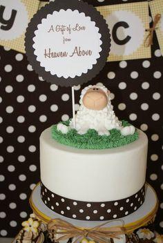 Sheep Cake Shaun The Sheep, Sheep And Lamb, Cake Pops, Sheep Cake, Lamb Cake, Birthday Ideas, Birthday Cake, Farm 2, Horse Cake