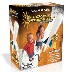 This glow in the dark Stomp Rocket will make a fun and exciting gift for kids Age 4.