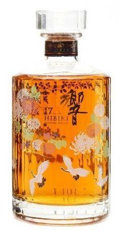 "HIBIKI 21 year old ""Banquet of the Peak"" Limited Edition Japanese Whisky Scotch Whiskey, Bourbon Whiskey, Whiskey Trail, Japanese Whisky, Whiskey Girl, Bussiness Card, Single Malt Whisky, Beer Recipes, Liquor Bottles"