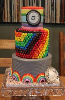 rainbow cake by Joshua John Russell