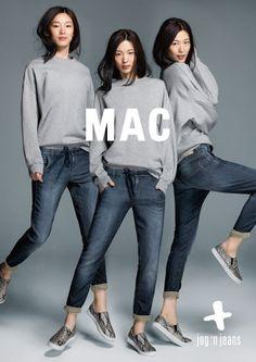 Die Mac Jog'n Jeans verbindet den authentischen Look einer Jeans mit dem Komfort von Sweatpants - bei Jeans-Meile