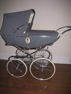 Silver Cross Kensington Vintage Pram Baby Carriage Stroller gray #SilverCross