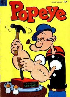 Popeye Comic Book...10 cents!!