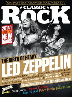 Classic Rock Issue 193 - On Sale Pop Rock, Rock And Roll, New Bands, Cool Bands, Hard Rock, Robert Plant Led Zeppelin, Blues, Rock Cover, Metal Albums