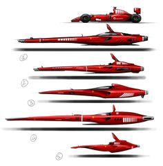Ferrari Spaceship