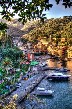 Portofino, Italy, one of my favorite places to visit. Italy Vacation, Vacation Spots, Italy Travel, Places To Travel, Places To See, Wonderful Places, Beautiful Places, Places Around The World, Around The Worlds