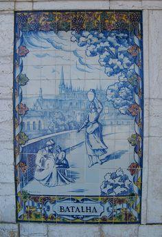 Painel de Azulejos: Batalha - Leiria