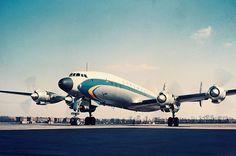 Lufthansa Lockheed L-1649A Starliner D-ALER, circa 1958. (Photo: Courtesy of Deutsche Lufthansa Berlin-Stiftung)