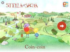 DÉCOUVRIR L'ÉCRIT - Amuse-toi avec Stella, Sacha et leur chien Fred alors qu'ils utilisent un coin-coin pour trouver des endroits magiques. Fais de la musique avec des bulles, collectionne les graines de pissenlit et construit un pont de fleurs. zinc Roe Games vous offre les Aventures Interactives de Stella et Sacha, une application qui combinent adroitement des dessins animés et des jeux pour créer une histoire amusante.