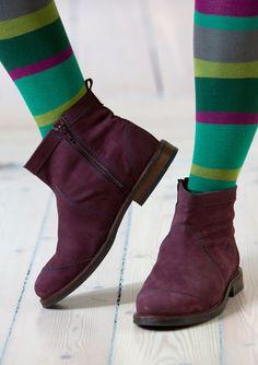 Nubuck boots : GUDRUN SJÖDÉN